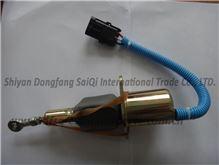 东风康明斯发动机6CT断油电磁阀3930233/3930234电子熄火器/3930233,3930234