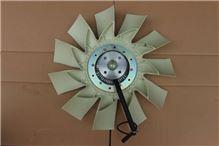 东风天龙电控硅油风扇总成1308060-T3700/1308060-T3700