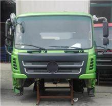 轩德X6珠光绿国五自卸车车身总成/X6
